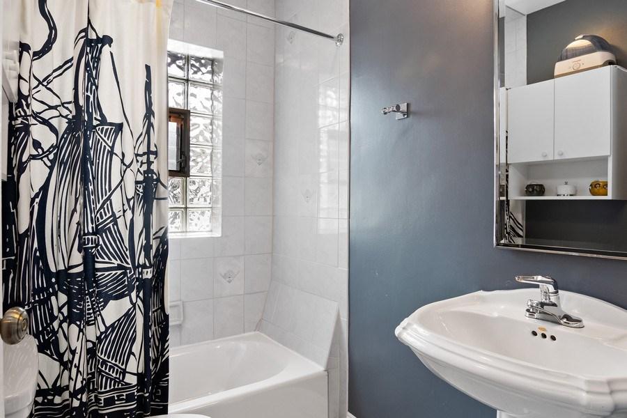 Real Estate Photography - 2757 Ridge Avenue, Evanston, IL, 60201 - 2nd Bathroom