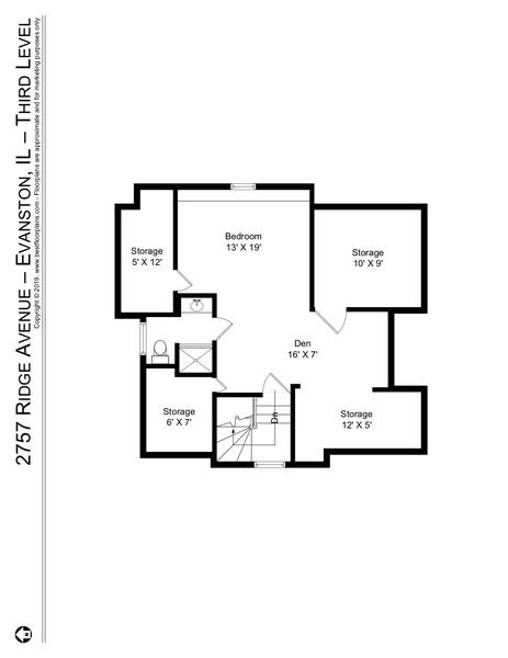 Real Estate Photography - 2757 Ridge Avenue, Evanston, IL, 60201 -