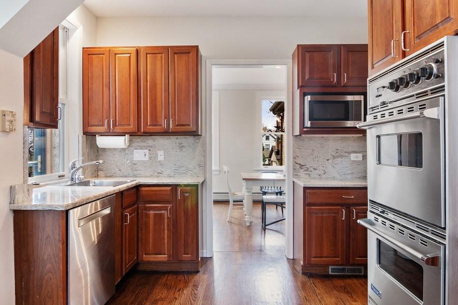 Real Estate Photography - 2757 Ridge Avenue, Evanston, IL, 60201 - Kitchen / Dining Room