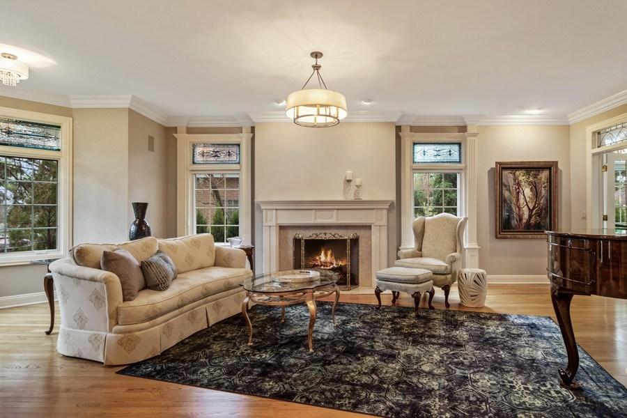Real Estate Photography - 916 N. Forrest Avenue, Arlington Heights, IL, 60004 - Elegant Living Room