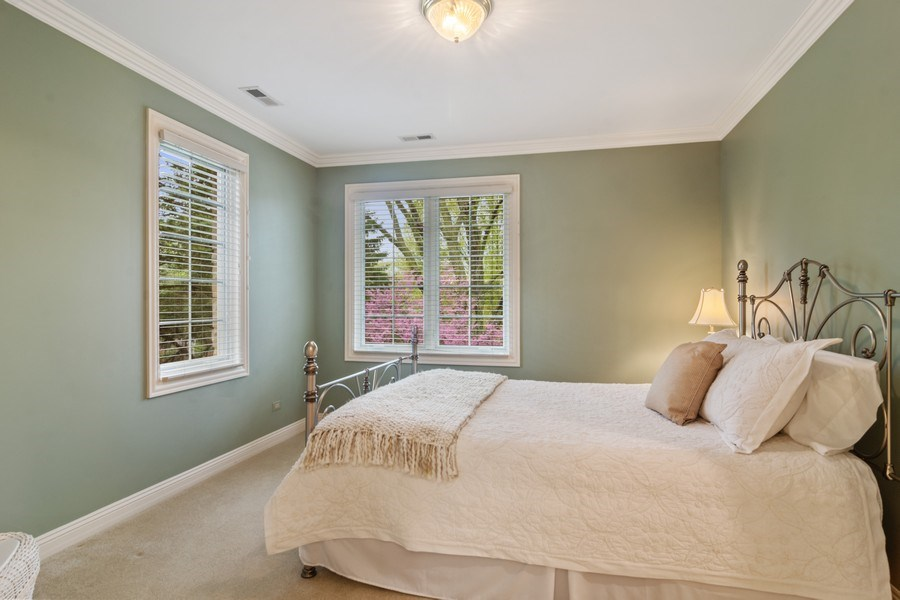Real Estate Photography - 916 N. Forrest Avenue, Arlington Heights, IL, 60004 - 4th Bedroom with pretty outdoor views