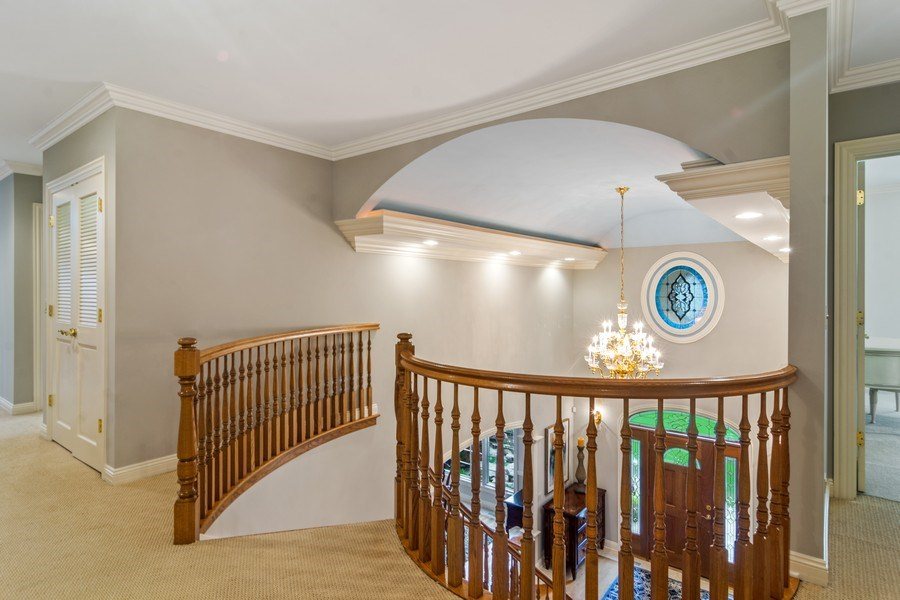 Real Estate Photography - 916 N. Forrest Avenue, Arlington Heights, IL, 60004 - Dramatic 2nd level overlook