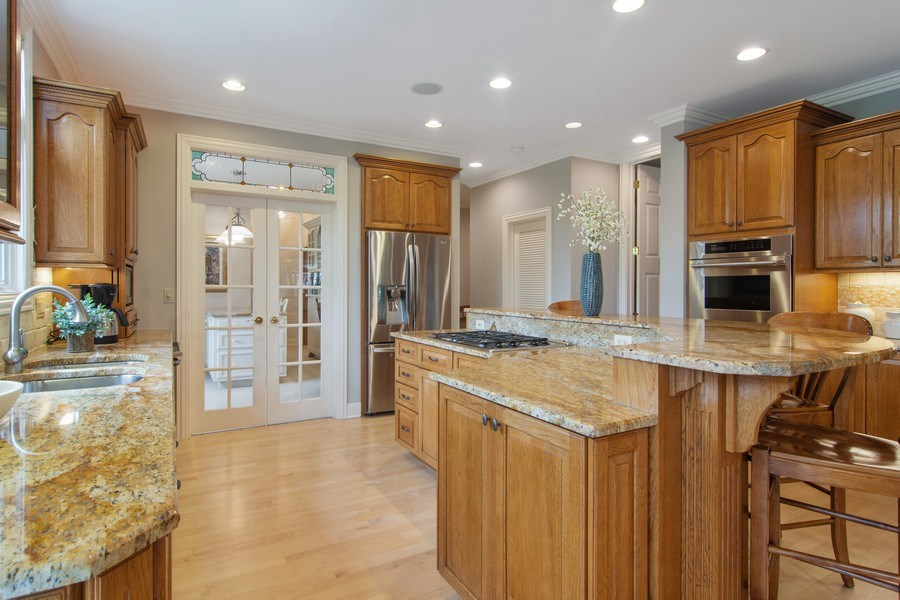 Real Estate Photography - 916 N. Forrest Avenue, Arlington Heights, IL, 60004 - Kitchen view toward Project Room