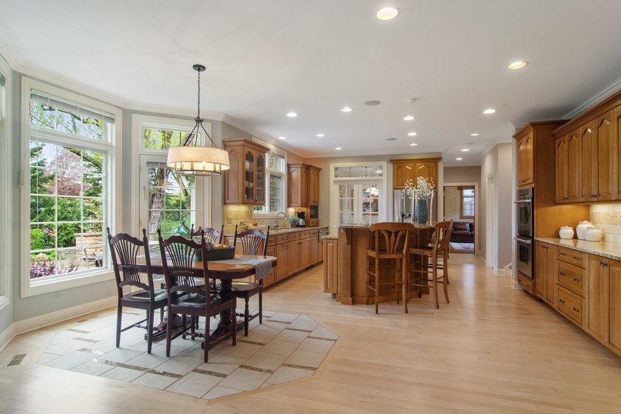 Real Estate Photography - 916 N. Forrest Avenue, Arlington Heights, IL, 60004 - Kitchen / Breakfast Room