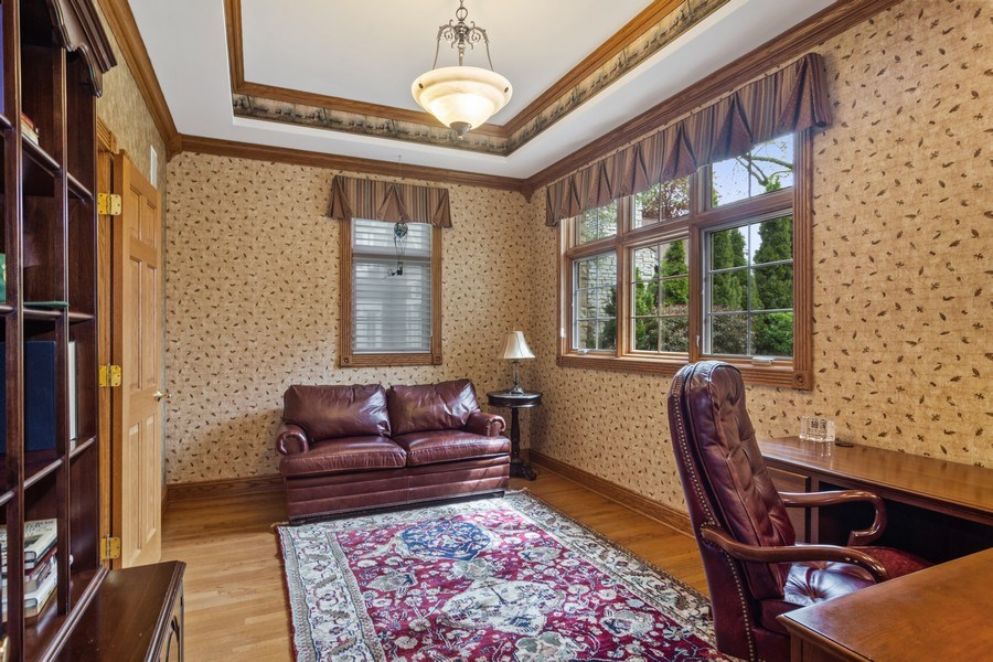 Real Estate Photography - 916 N. Forrest Avenue, Arlington Heights, IL, 60004 - Main Floor bedroom/office
