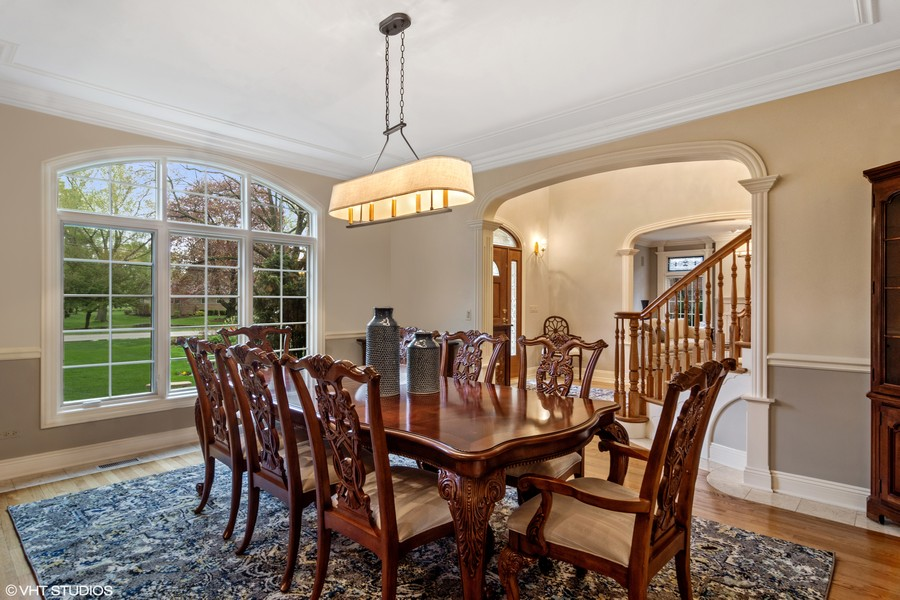 Real Estate Photography - 916 N. Forrest Avenue, Arlington Heights, IL, 60004 - Spacious Dining Room