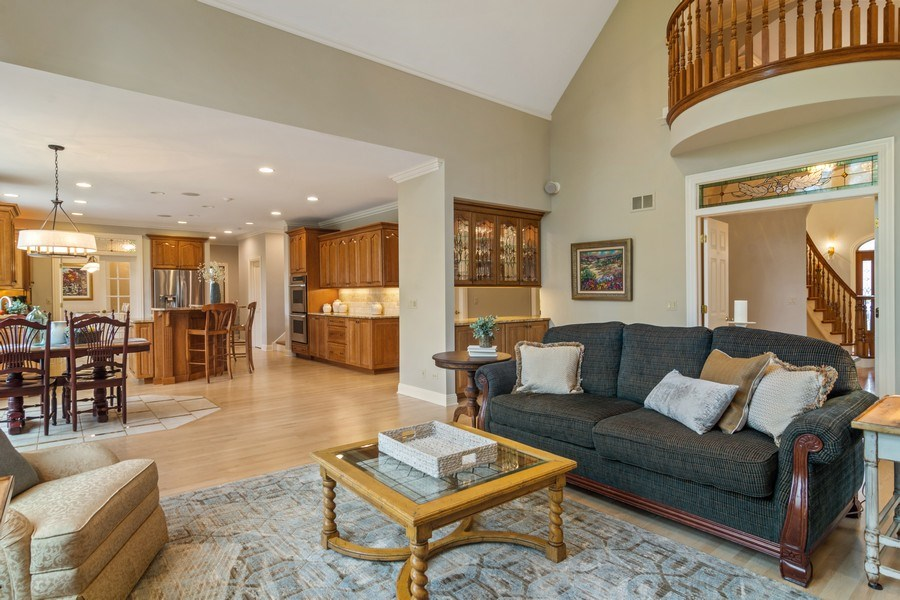 Real Estate Photography - 916 N. Forrest Avenue, Arlington Heights, IL, 60004 - Family Room opens to Kitchen