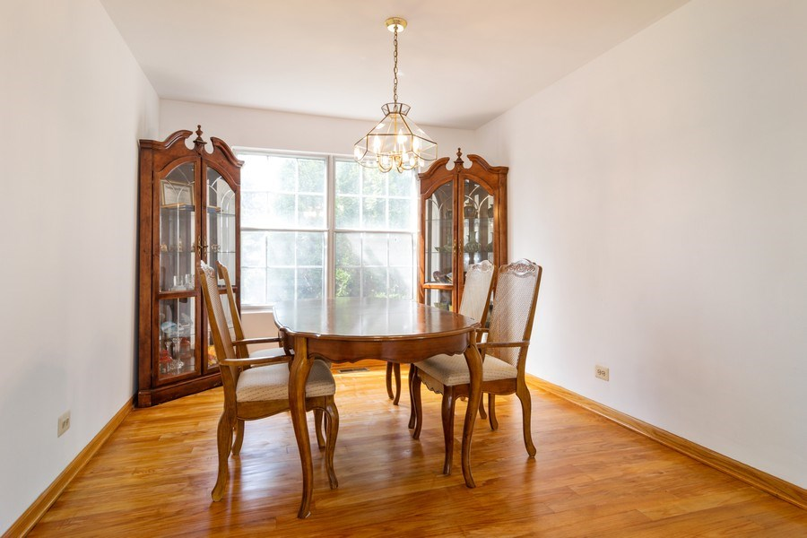 Real Estate Photography - 589 FOSTER Avenue, Bartlett, IL, 60103 - Dining Room