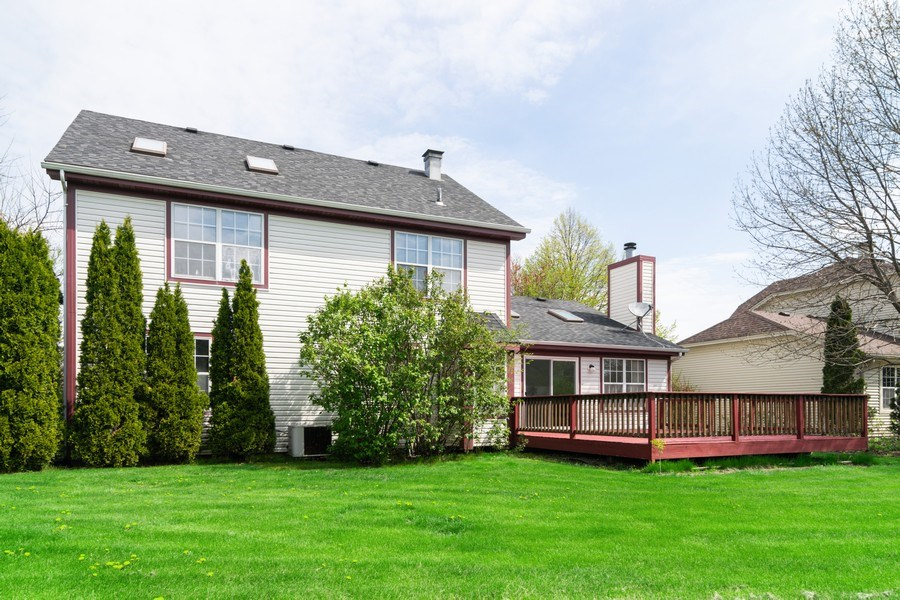 Real Estate Photography - 589 FOSTER Avenue, Bartlett, IL, 60103 - Rear View
