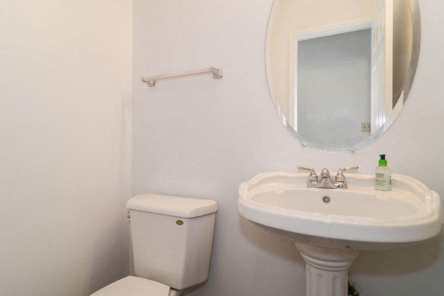 Real Estate Photography - 589 FOSTER Avenue, Bartlett, IL, 60103 - Half Bath