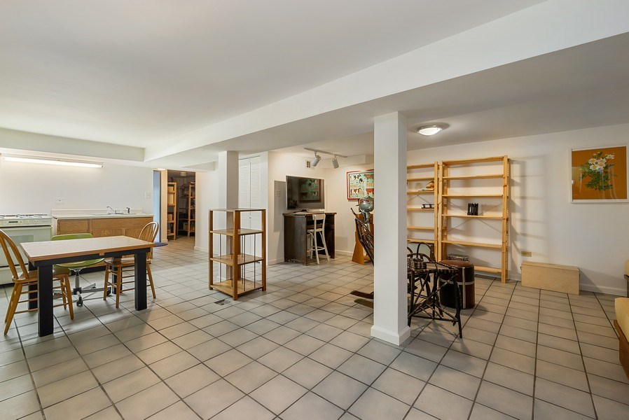 Real Estate Photography - 5310 North Magnolia Ave, Chicago, IL, 60640 - Lower Level