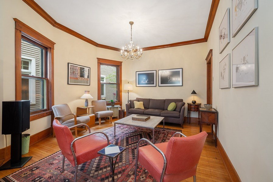 Real Estate Photography - 5310 North Magnolia Ave, Chicago, IL, 60640 - Family room
