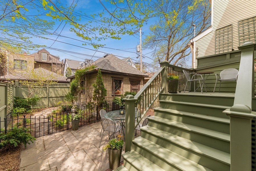 Real Estate Photography - 5310 North Magnolia Ave, Chicago, IL, 60640 - Back Yard
