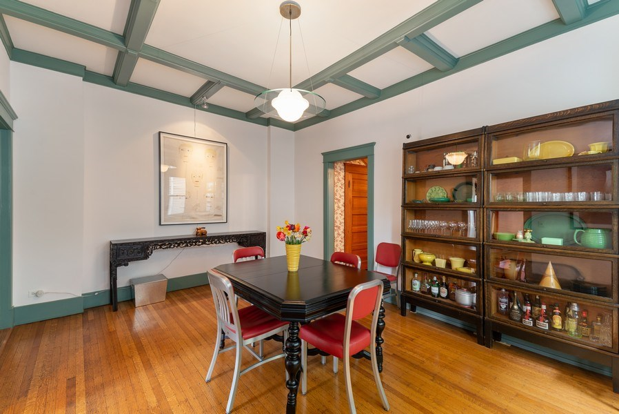 Real Estate Photography - 5310 North Magnolia Ave, Chicago, IL, 60640 - Dining Room