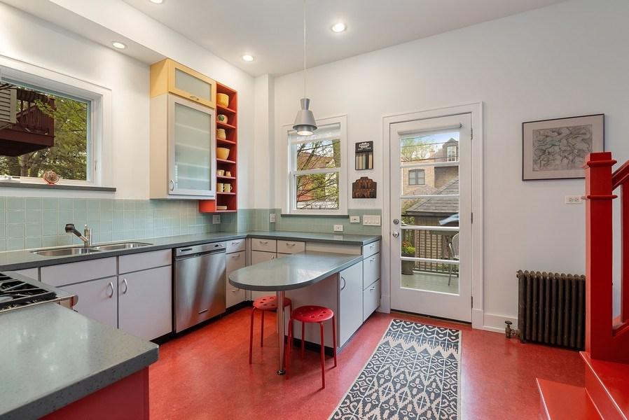 Real Estate Photography - 5310 North Magnolia Ave, Chicago, IL, 60640 - Kitchen