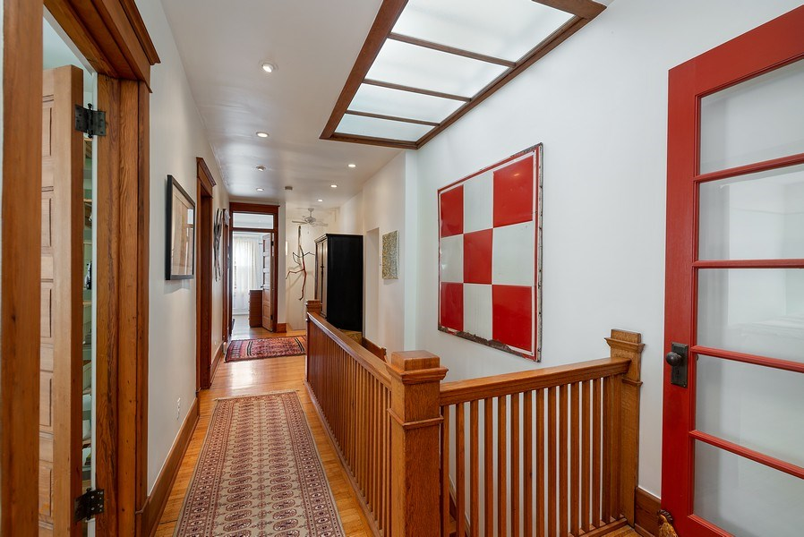 Real Estate Photography - 5310 North Magnolia Ave, Chicago, IL, 60640 - Hallway