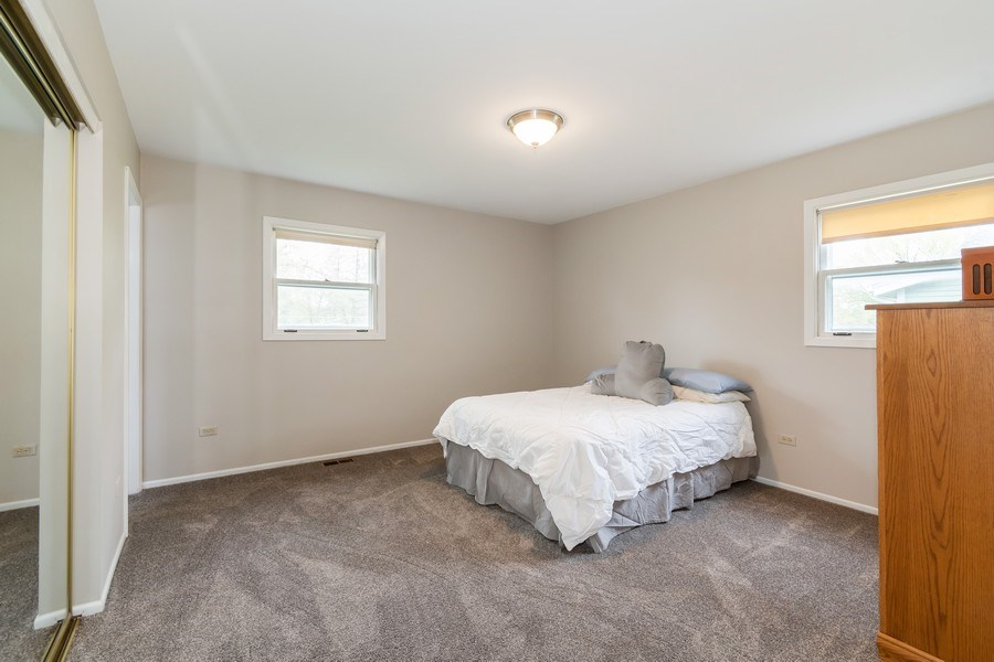 Real Estate Photography - 4N064 Norris Avenue, West Chicago, IL, 60185 - Master Bedroom