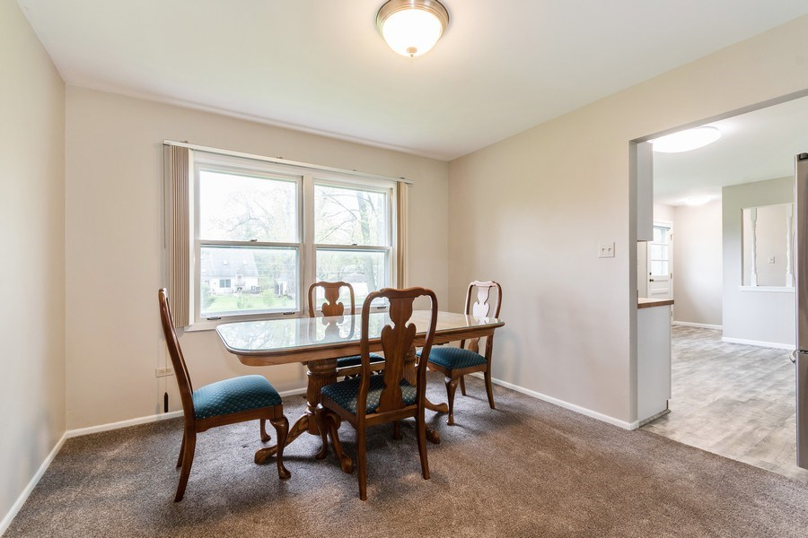 Real Estate Photography - 4N064 Norris Avenue, West Chicago, IL, 60185 - Dining Room
