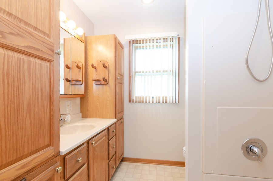 Real Estate Photography - 518 E. Van Buren Street, Marengo, IL, 60152 - Bathroom