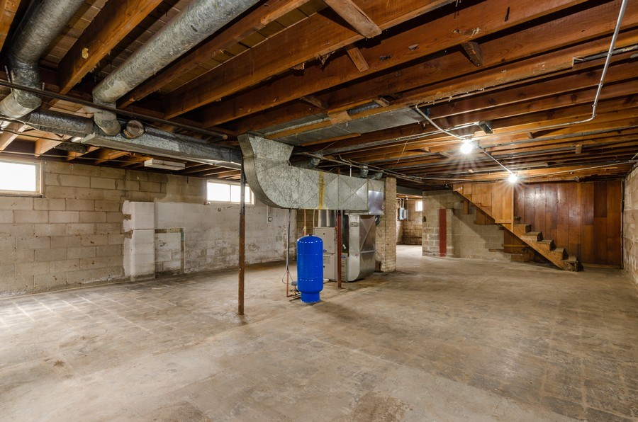 Real Estate Photography - 14N808 Castle Avenue, East Dundee, IL, 60118 - Basement