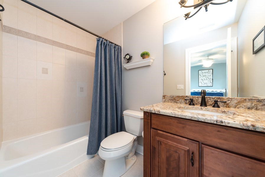 Real Estate Photography - 1172 N. Beverly Lane, Arlington Heights, IL, 60004 - 3rd Bathroom