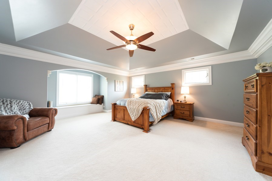 Real Estate Photography - 1172 N. Beverly Lane, Arlington Heights, IL, 60004 - Master Bedroom