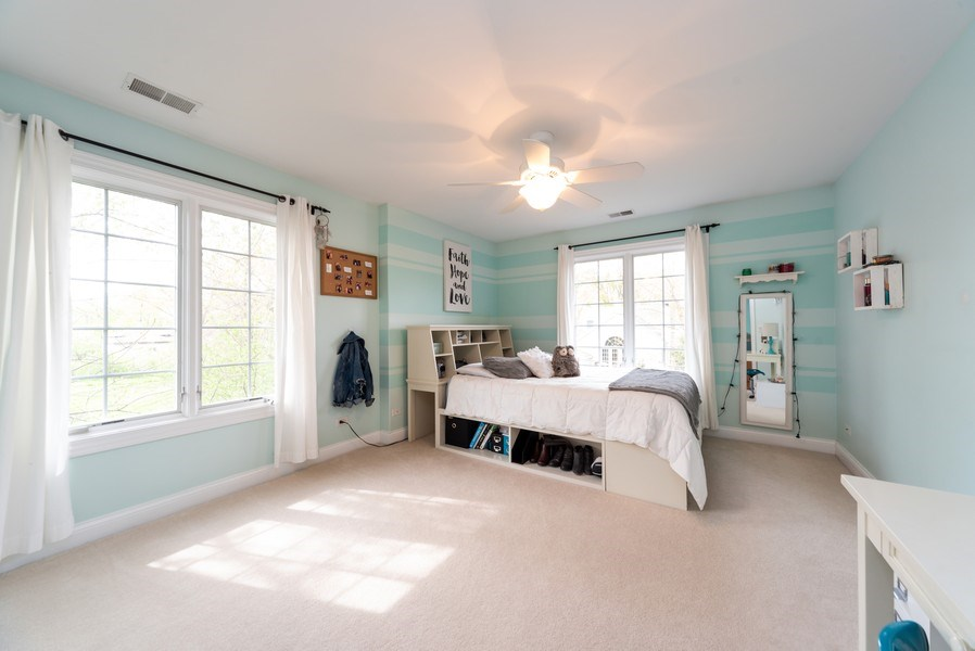 Real Estate Photography - 1172 N. Beverly Lane, Arlington Heights, IL, 60004 - 3rd Bedroom