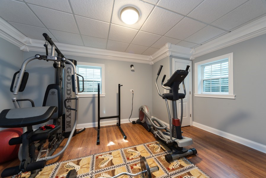 Real Estate Photography - 1172 N. Beverly Lane, Arlington Heights, IL, 60004 - Exercise Room