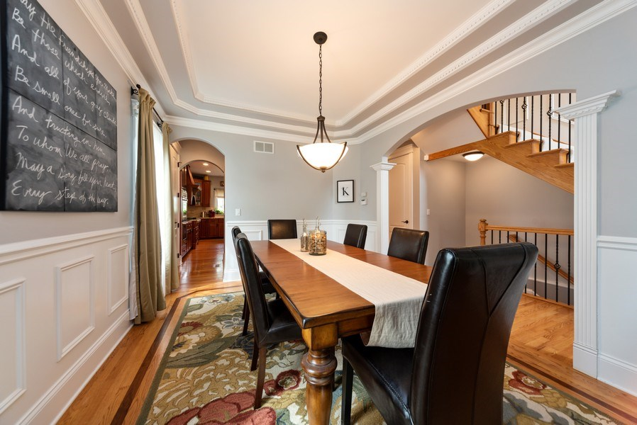 Real Estate Photography - 1172 N. Beverly Lane, Arlington Heights, IL, 60004 - Dining Room