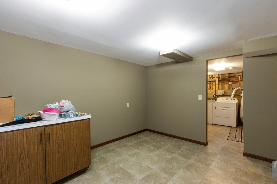 Real Estate Photography - 2419 N. Windsor Drive, Arlington Heights, IL, 60004 - Basement