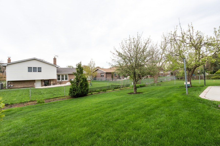 Real Estate Photography - 2419 N. Windsor Drive, Arlington Heights, IL, 60004 - Back Yard