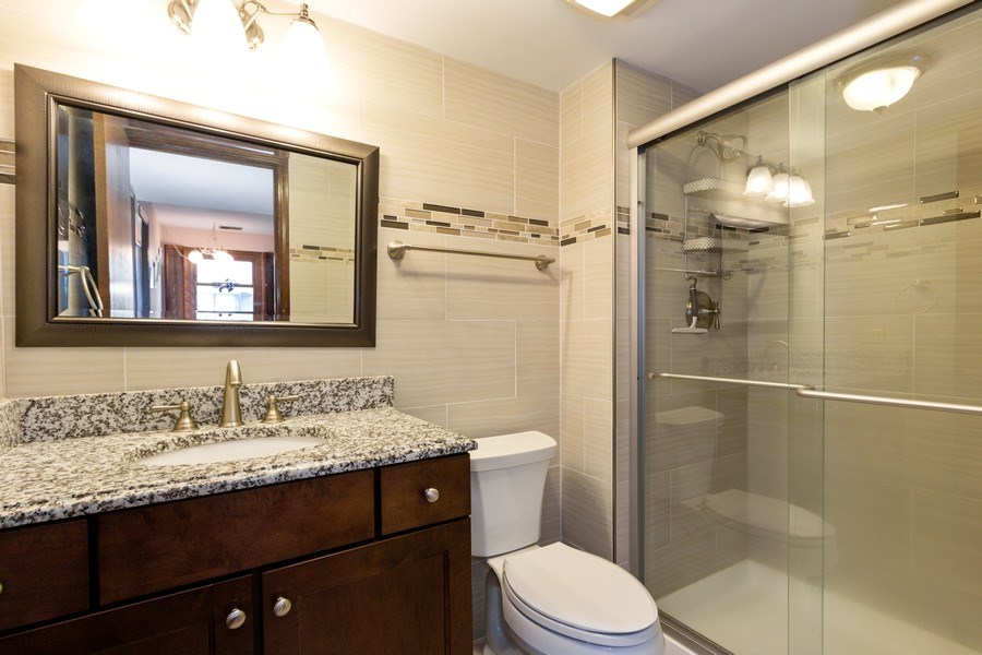 Real Estate Photography - 2419 N. Windsor Drive, Arlington Heights, IL, 60004 - Half Bath