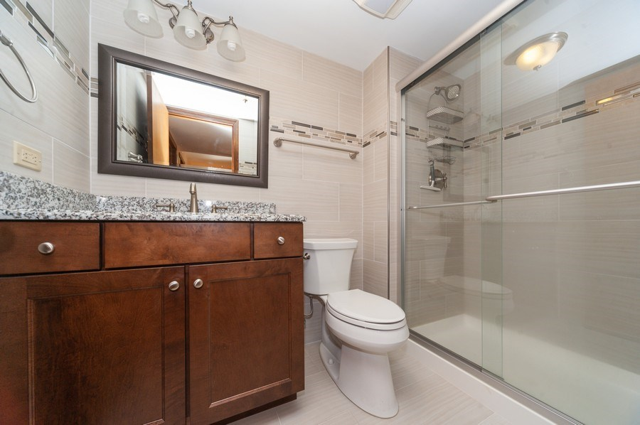Real Estate Photography - 2419 N. Windsor Drive, Arlington Heights, IL, 60004 - Bathroom