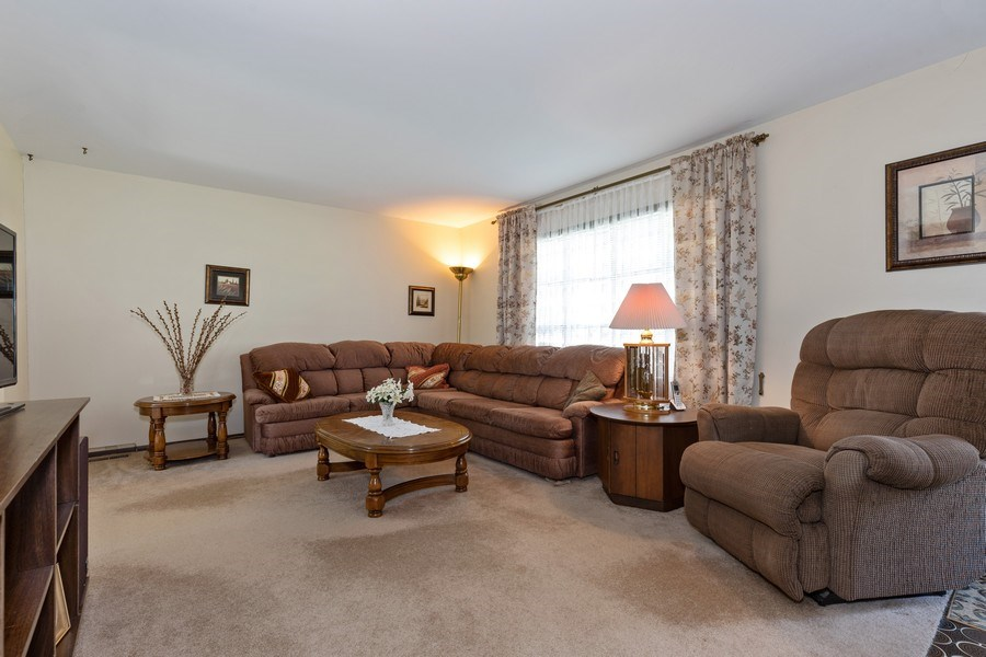 Real Estate Photography - 4621 Belmont Road, Downers Grove, IL, 60515 - Living Room