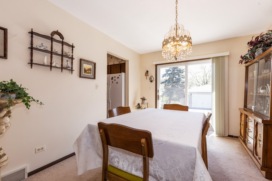 Real Estate Photography - 4621 Belmont Road, Downers Grove, IL, 60515 - Dining Room