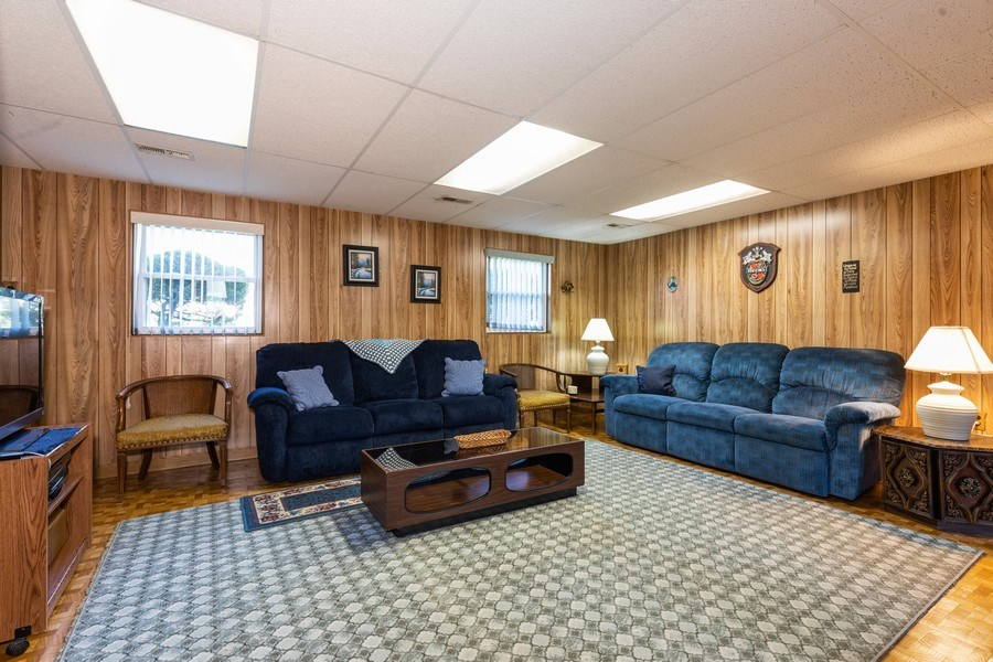 Real Estate Photography - 4621 Belmont Road, Downers Grove, IL, 60515 - Family Room