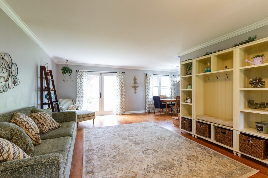 Real Estate Photography - 5321 W. Shore Drive, Mchenry, IL, 60050 - Living Room