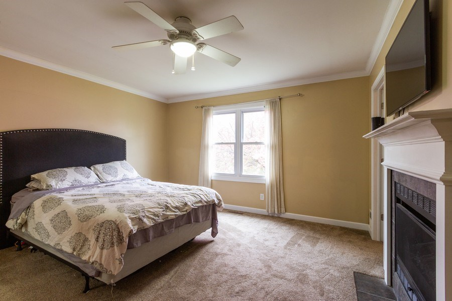Real Estate Photography - 5321 W. Shore Drive, Mchenry, IL, 60050 - Master Bedroom