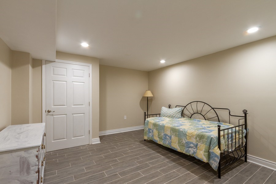 Real Estate Photography - 5321 W. Shore Drive, Mchenry, IL, 60050 - Bonus Room in Basement - Could be 4th BR