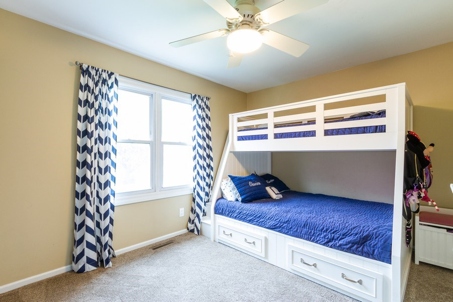 Real Estate Photography - 5321 W. Shore Drive, Mchenry, IL, 60050 - 2nd Bedroom