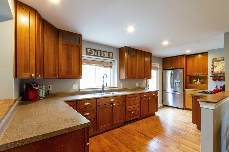 Real Estate Photography - 5321 W. Shore Drive, Mchenry, IL, 60050 - Kitchen