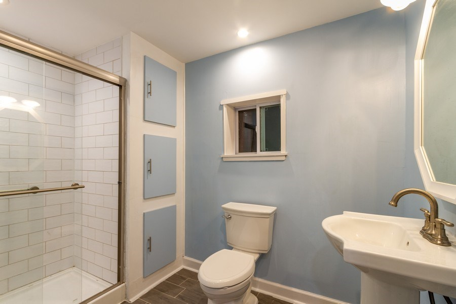 Real Estate Photography - 5321 W. Shore Drive, Mchenry, IL, 60050 - Bathroom