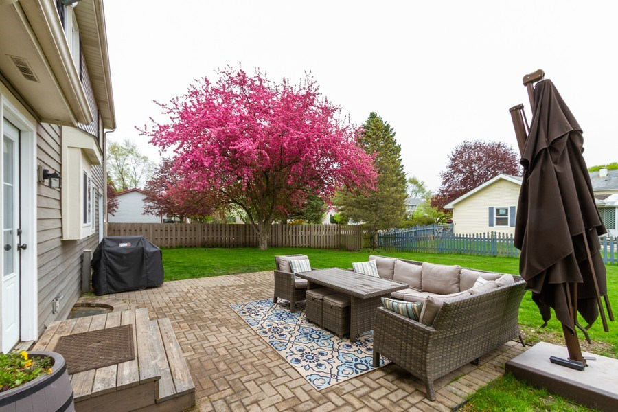 Real Estate Photography - 5321 W. Shore Drive, Mchenry, IL, 60050 - Patio