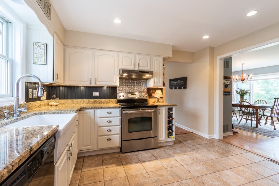 Real Estate Photography - 24740 W. Miller Road, Barrington, IL, 60010 - Kitchen