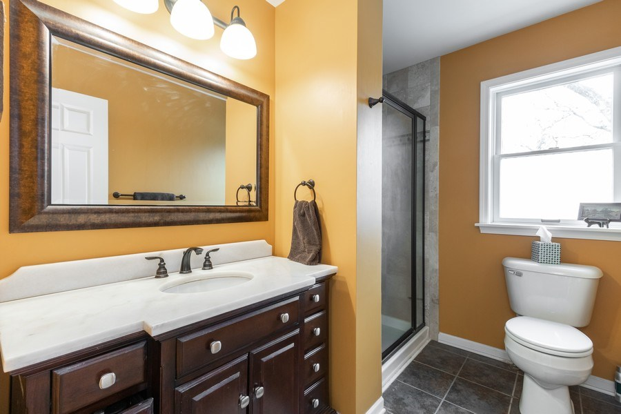 Real Estate Photography - 24740 W. Miller Road, Barrington, IL, 60010 - 2nd Bathroom