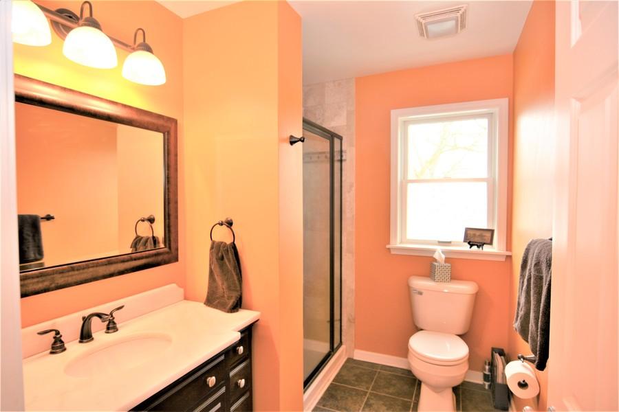 Real Estate Photography - 24740 W. Miller Road, Barrington, IL, 60010 - Bathroom serving Dance Studio and Bedroom 4