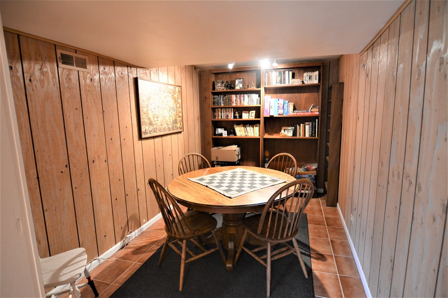 Real Estate Photography - 24740 W. Miller Road, Barrington, IL, 60010 - Lower Level Game Room or office
