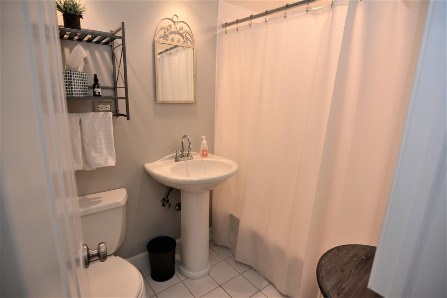 Real Estate Photography - 24740 W. Miller Road, Barrington, IL, 60010 - Main Level Bath