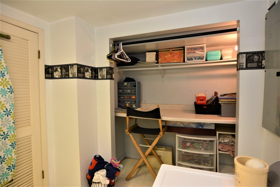 Real Estate Photography - 24740 W. Miller Road, Barrington, IL, 60010 - Lower Level Craft Station