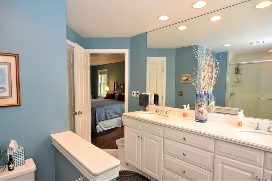 Real Estate Photography - 24740 W. Miller Road, Barrington, IL, 60010 - Master Bath